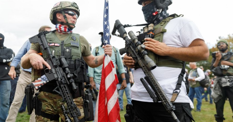 A Well-Armed and Unpatriotic Far Right
