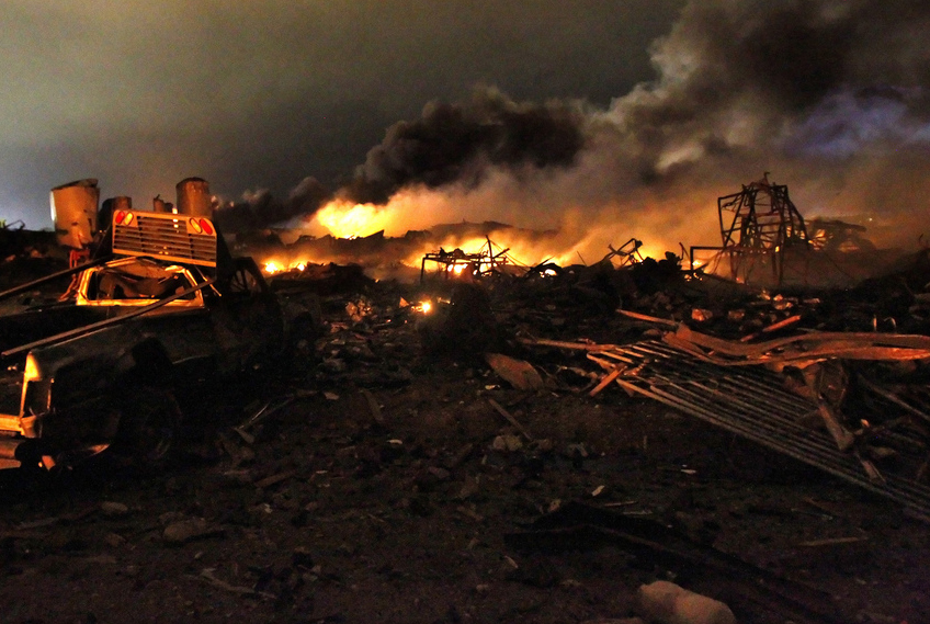 Two Years After West  Texas Fertilizer Plant Explosion  Are Workers Any Safer  New Report Says