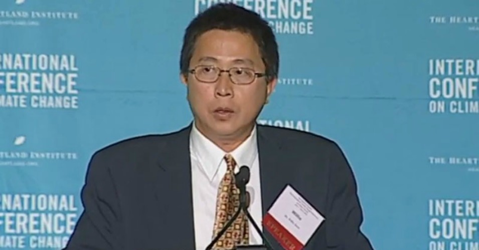 Harvard-Smithsonian researcher Willie Soon, who has denied that climate change is caused by human activity, took more than $1 million in funding from the energy industry, newly released documents show. (Screenshot)