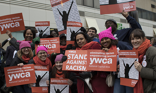 Amber Coleman and Monica Gray, YWCA